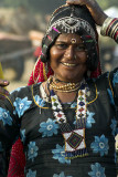 A nomad woman, Pushkar, India