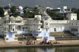 The sacred lake in early afternoon, Pushkar