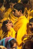 Evening ceremony on the Ganges, Rishikesh, India