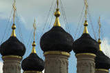 Onion domes of the Temple of St Sophia the Wisdom of God, facing the Kremlin across the Moscow River