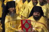 Orthodox dignitaries at the Kremlin