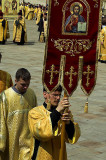 Orthodox ceremony at the Kremlin's Cathedral Square