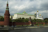 Kremlin from beyond the Moscow River