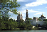 Novodevichy, 18th C. convent of the 'New Maidens' in Moscow