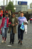 Strollers in Red Square