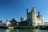 Caernarfon Castle, where Princes of Wales are inaugurated (UK)