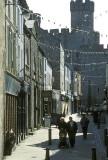 Caernarfon: castle rising over the town