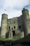 Harlech Castle, completed 1239 AD by Edward I