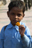 Young boy, Haridwar, India