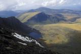 On the Llanberis Path, below the summit of Mount Snowdon