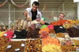 Produce market vendors, Yaroslavl