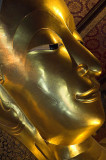 Wat Po, the reclining Buddha