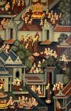 Mural at Wat Po