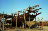 The dhowyard at Bateen, Abu Dhabi