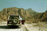 Entering the Musandam from Ras Al Khaimah, to the west