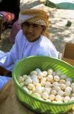 Omani egg vendor, Buraimi