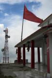 Surkanda Devi Temple and telecommunications  tower at 3,000 metres ASL