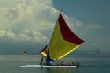 Prahu off the East Java coast