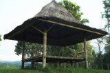 Farmers' shelter in the grounds of Ijen Mountain Resort