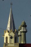 Church and mosque, Malang