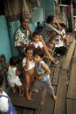Kampong or shanty town at Pasar Ikan