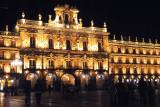 The university city of Salamanca, Spain (Plaza Mayor)