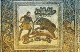Roman mosaic, Merida, Extremadura