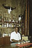 Sundowners at the Baobab Bar, Mbuyu Camp