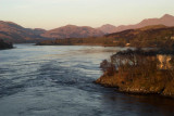 Falls of Lora on Loch Etive, Oban