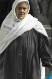 Muslim woman, Whitechapel, London