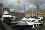 Marina at St Katharines Dock, Wapping