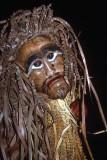 Mask created by the Mah Meri tribe of the Sakai