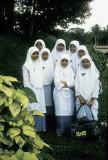 Muslim schoolgirls, Malaysia