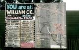 Traveller's advisory at William Creek, near Lake Eyre