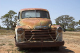 Australia: Rusting Chevy, outback Qld