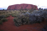 Dusk at Uluru (Ayers Rock), Australia