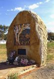 Grave of the artist Albert Namatjira