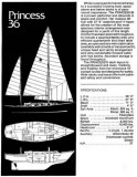 Factory Specifications - Princess 36