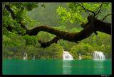 Waterfalls in Jiuzhaigou Valley