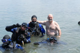Inuit diving formation with NASTC, Georgina Island, Ontario