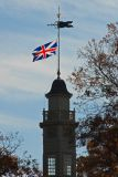 Capitol Cupola & Flag at End of Our Tour