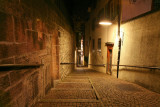 Small alley in old town