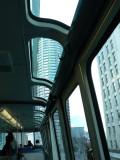 Monorail skylight
