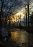 Sunrise, Abrams Creek, Cades Cove