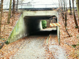 Sous le Ring 0 - Passage souterrain du Molenweg.
