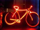 Vélo laser.