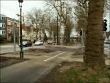 Piste du Souverain - mi-février 2007 - Nouveaux feux de signalisation: 5 secondes, pas plus, pour les vélos !