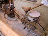 Vélo en bambou.