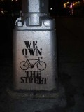 We own the street.