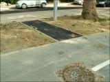 11/5/2007 - Les sorties de piste cyclable sont asphaltées. Il aura fallu attendre plus de 8 mois... (suite)